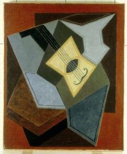 Guitare et compotier